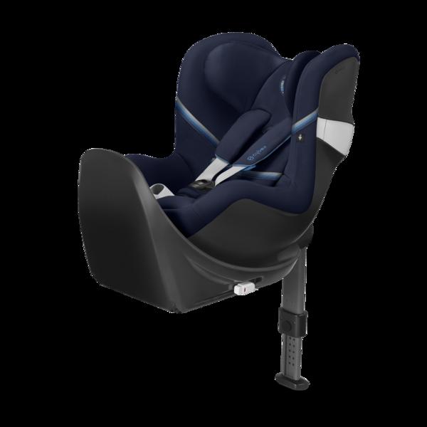 Cybex Sirona M2 I-size + ISOFIX Base M Navy Blue Bērnu autosēdeklis 0-18 kg
