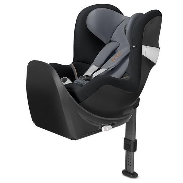 Cybex Sirona M2 I-size + ISOFIX Base M Pepper Black Bērnu autosēdeklis 0-18 kg