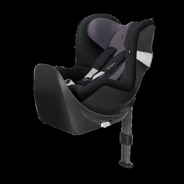 Cybex Sirona M2 I-size + ISOFIX Base M Premium Black Bērnu autosēdeklis 0-18 kg