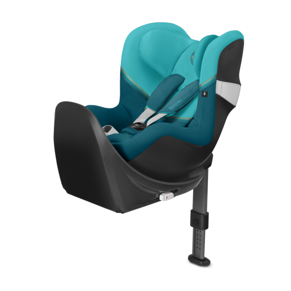 Cybex Sirona M2 I-size + ISOFIX Base M River Blue Bērnu autosēdeklis 0-18 kg