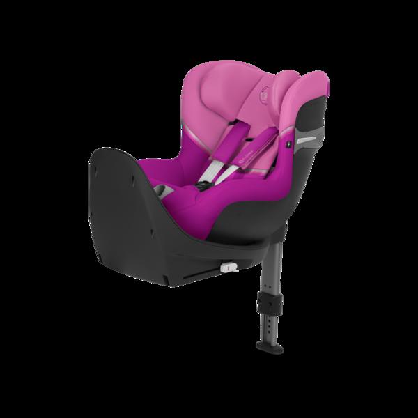 Cybex Sirona S I-Size Magnolia Pink Bērnu autosēdeklis 0-18 kg