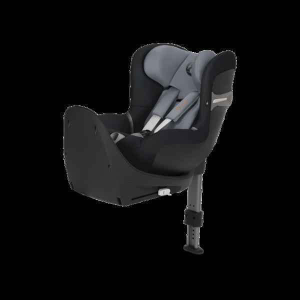 Cybex Sirona S I-Size Pepper Black Bērnu autosēdeklis 0-18 kg