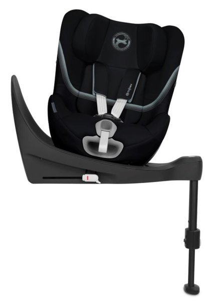 Cybex Sirona SX2 i-Size Deep Black Bērnu autosēdeklis 0-18 kg