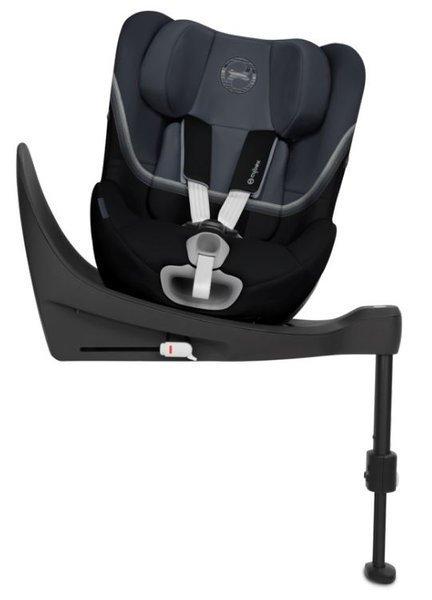 Cybex Sirona SX2 i-Size Granite Black Bērnu autosēdeklis 0-18 kg