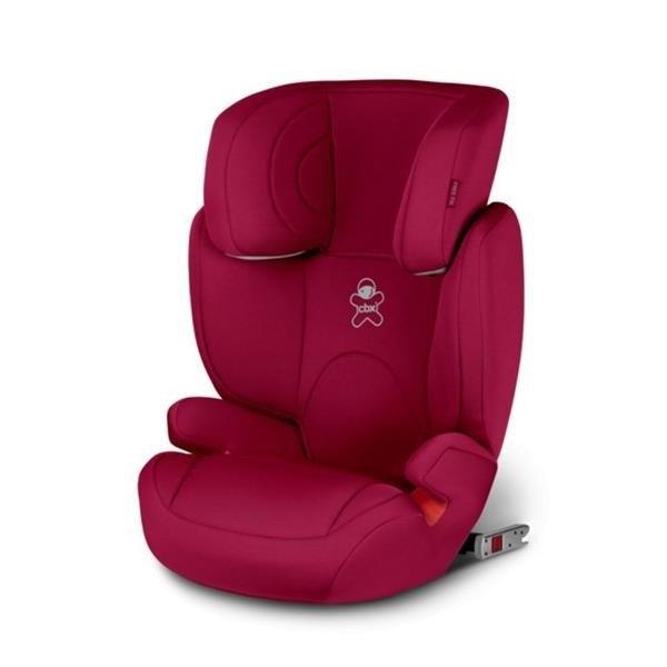 Cybex Solution 2-Fix Crunchy Red Bērnu autosēdeklis 15-36 kg