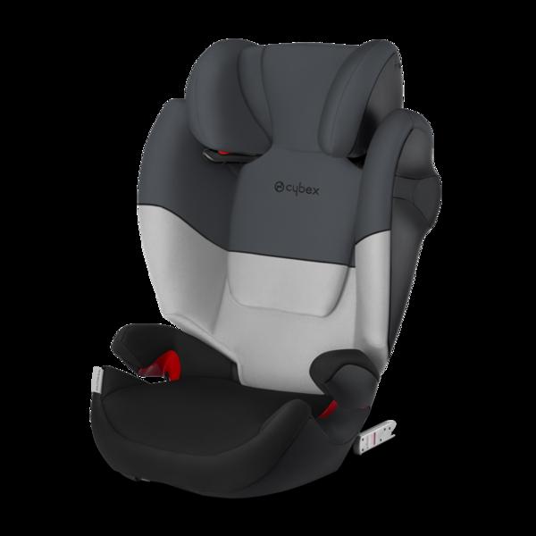 Cybex Solution M-Fix Grey Rabbit Bērnu autosēdeklis 15-36 kg