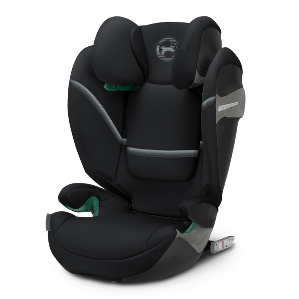 Cybex Solution S I-Fix Deep Black Bērnu autosēdeklis 15-36 kg