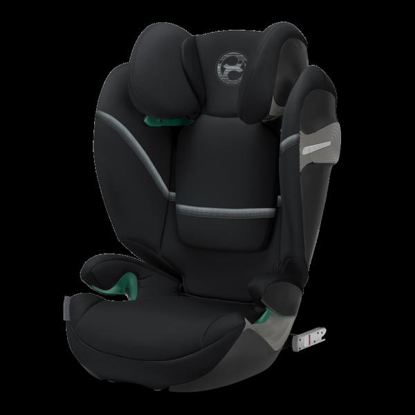 Cybex Solution S I-Fix Deep Black Bērnu autosēdeklis 15-36 kg