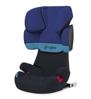 Cybex Solution X-Fix Blue moon Bērnu autosēdeklis 15-36 kg