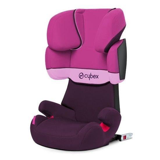 Cybex Solution X-Fix Purple Rain Bērnu autosēdeklis 15-36 kg