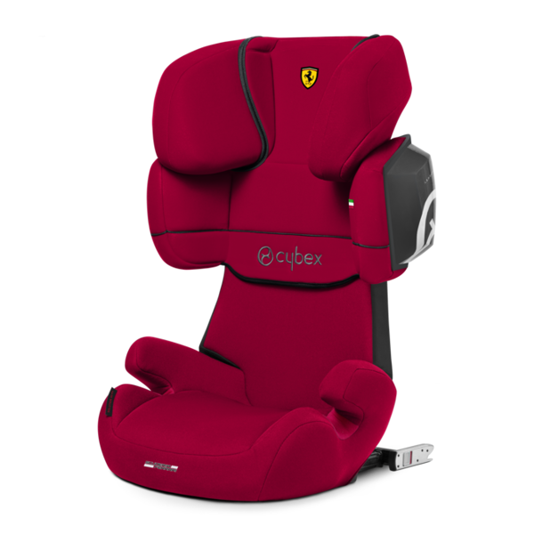 Cybex Solution X2-Fix Racing Red - Ferrari Bērnu autosēdeklis 15-36 kg