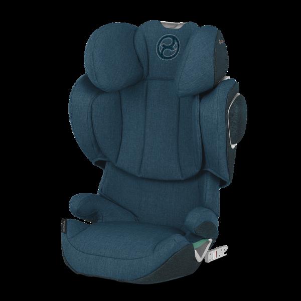 Cybex Solution Z-Fix Mountain Blue Plus Bērnu autosēdeklis 15-36 kg