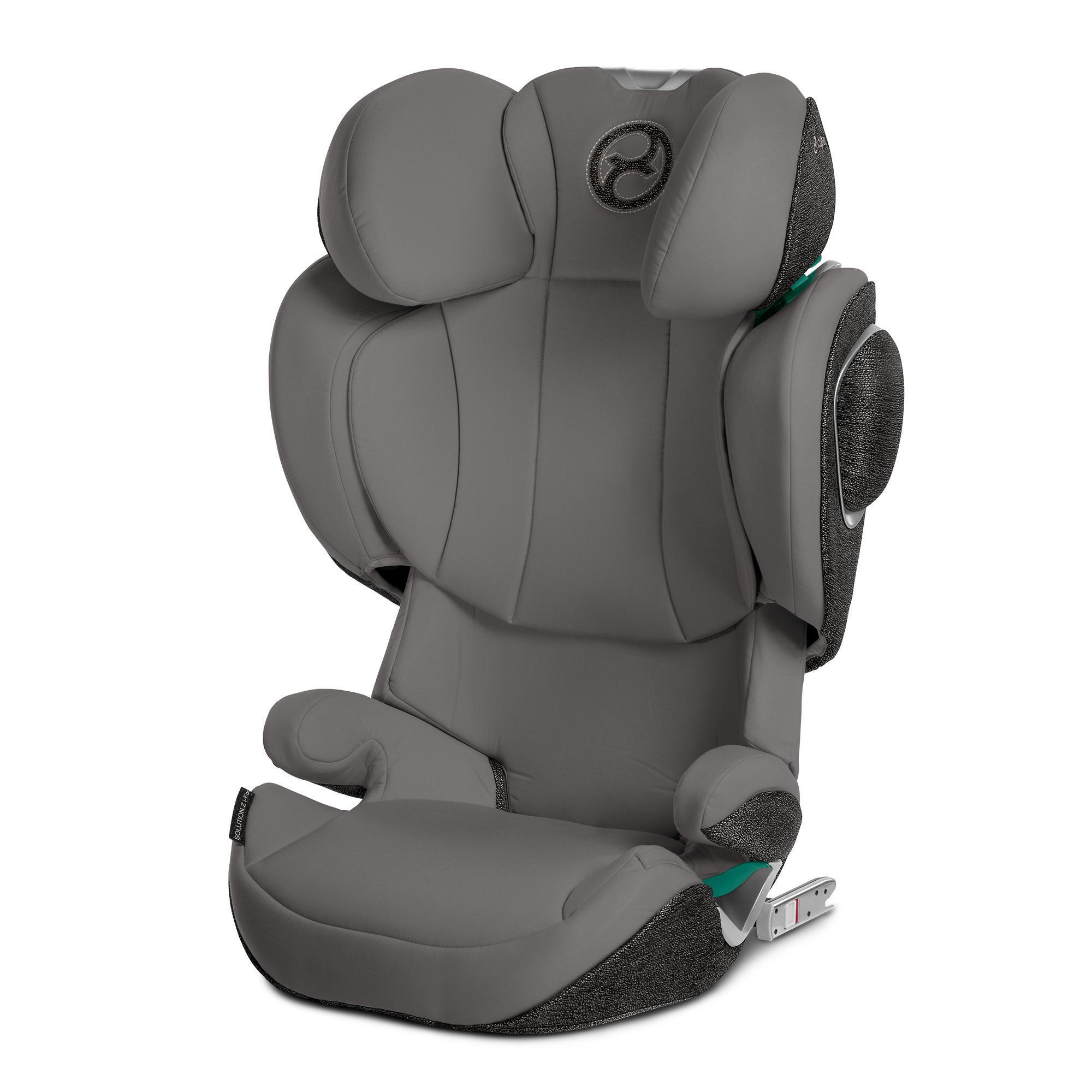 Cybex Solution Z-Fix Soho Grey Bērnu autosēdeklis 15-36 kg