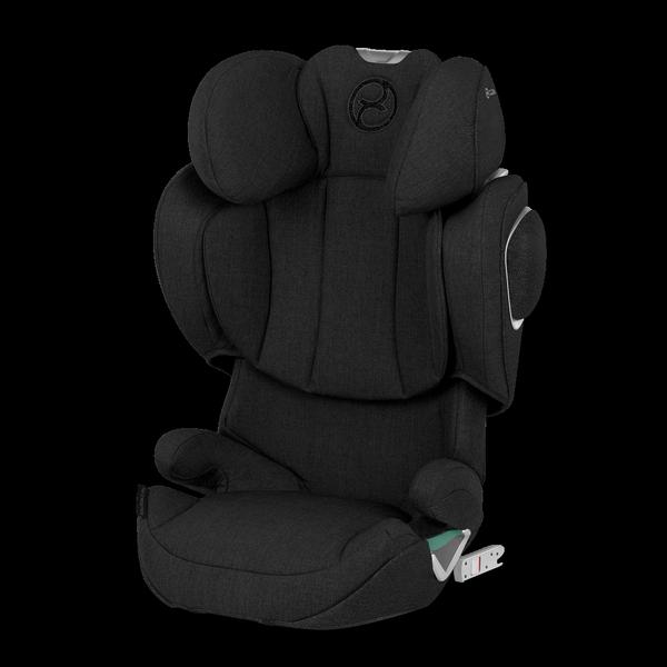 Cybex Solution Z I-Fix Deep Black Plus Bērnu autosēdeklis 15-36 kg