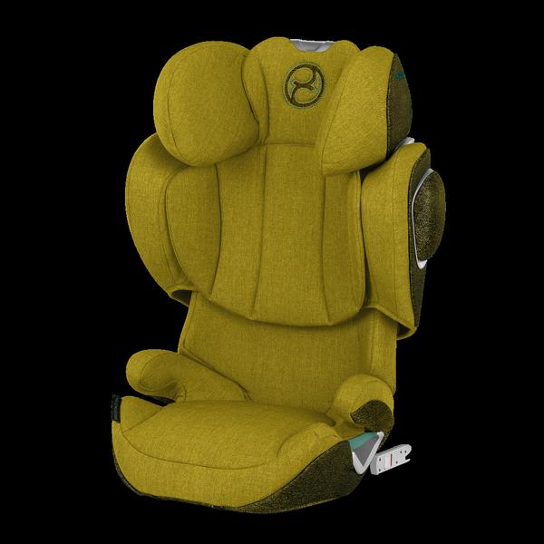 Cybex Solution Z I-Fix Mustard Yellow Plus Bērnu autosēdeklis 15-36 kg