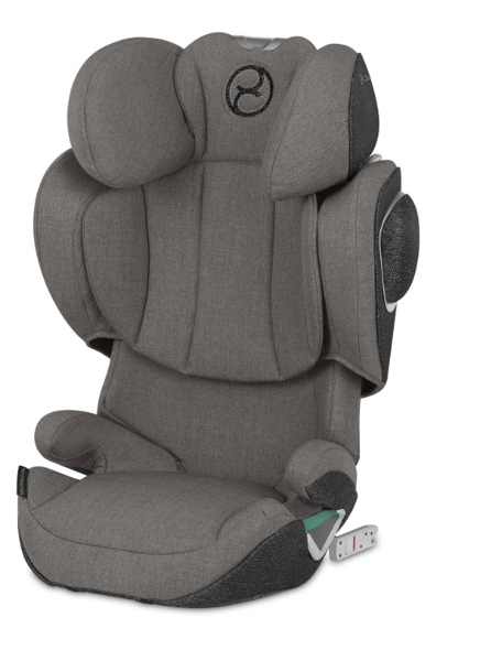 Cybex Solution Z I-Fix Soho Grey Plus Bērnu autosēdeklis 15-36 kg