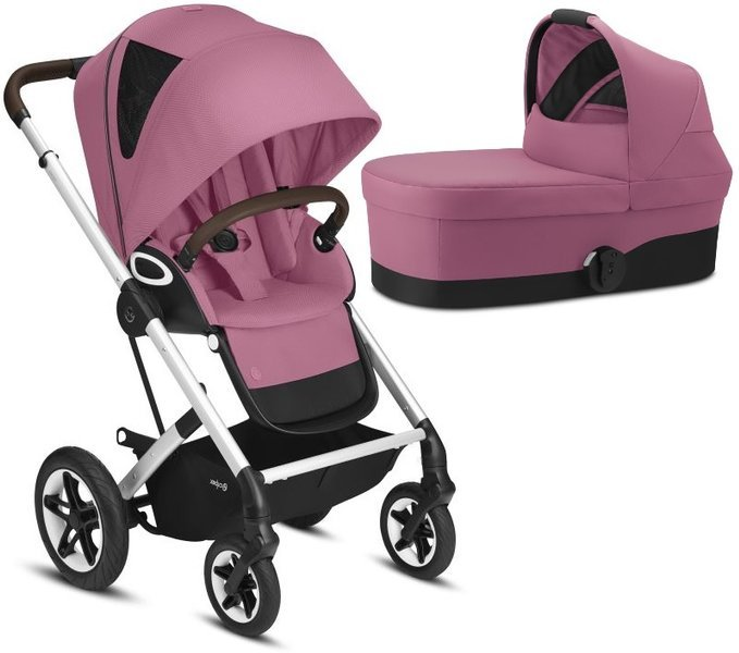 Cybex Talos S Lux Magnolia Pink Bērnu rati 2in1