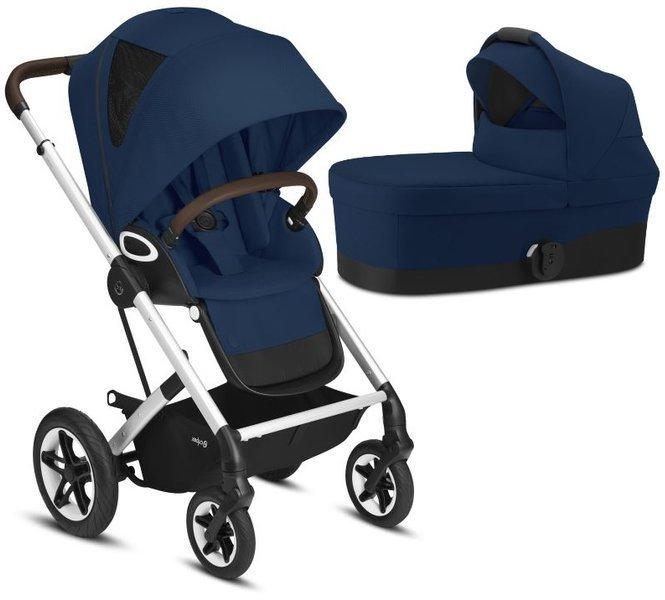 Cybex Talos S Lux Navy Blue Bērnu rati 2in1