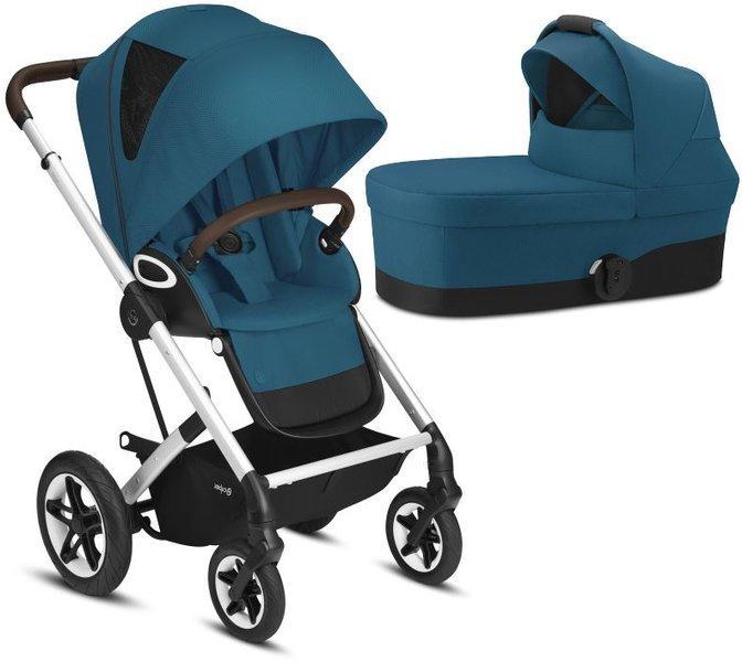 Cybex Talos S Lux River Blue Bērnu rati 2in1
