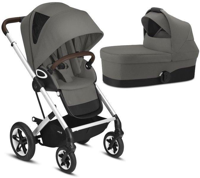 Cybex Talos S Lux Soho Grey Bērnu rati 2in1