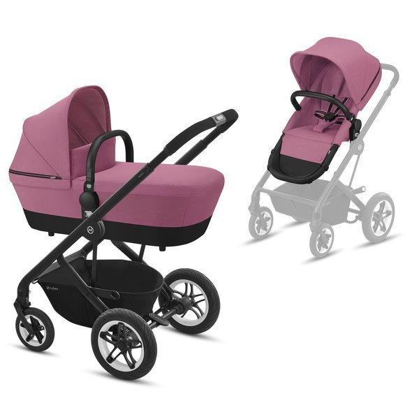 Cybex Talos S Magnolia Pink Bērnu rati 2in1