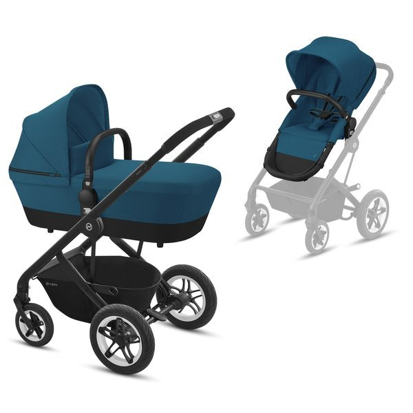 Cybex Talos S River Blue Bērnu rati 2in1