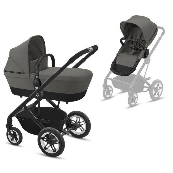 Cybex Talos S Soho Grey Bērnu rati 2in1