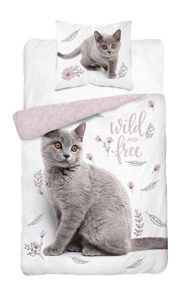 Detexpol Youth Kitten gultas veļas komplekts no 2 daļām 140x200
