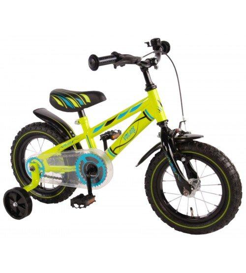 Divriteņu velosipēds VOLARE Yipeeh Electric Green 12 collas 71234