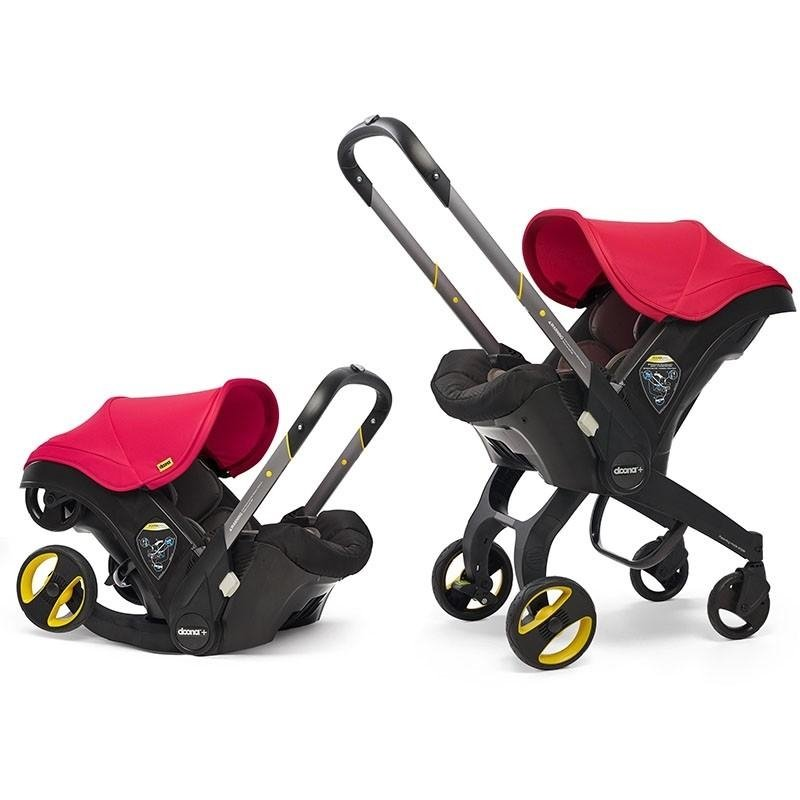 Doona Infant Car Seat & Stroller Flame Red Autosēdeklis - ratiņi 2in1