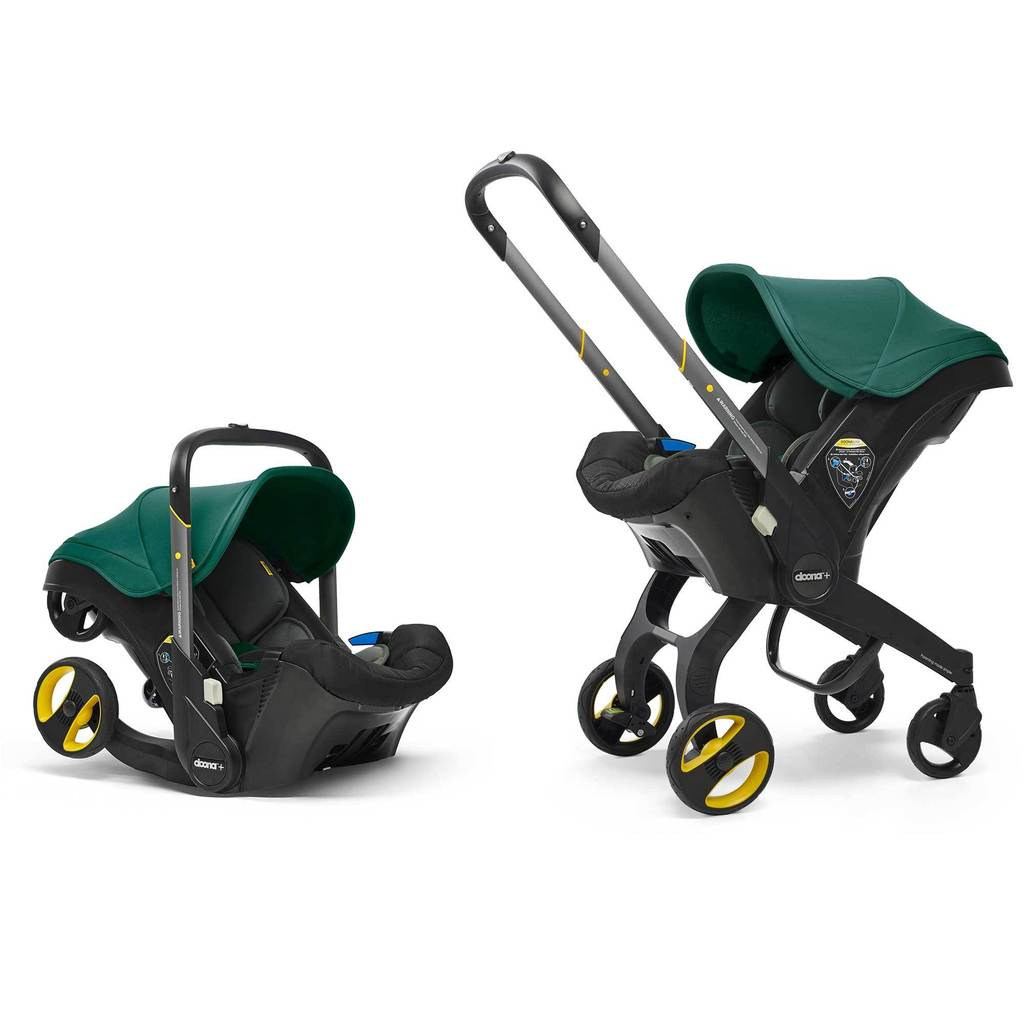 Doona Infant Car Seat & Stroller Racing Green Autosēdeklis - ratiņi 2in1
