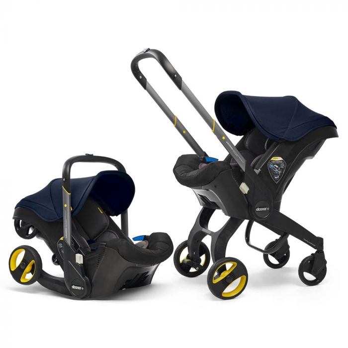 Doona Infant Car Seat & Stroller Royal Blue Autosēdeklis - ratiņi 2in1