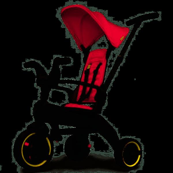 DOONA Liki S1 Flame Red Bērnu trīsritenis