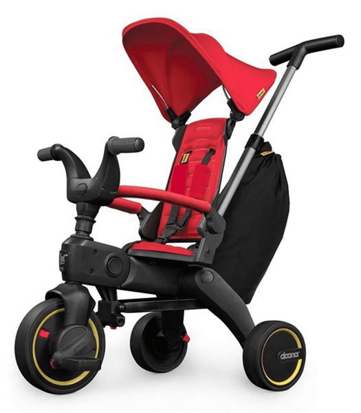 DOONA Liki S3 Red Bērnu trīsritenis