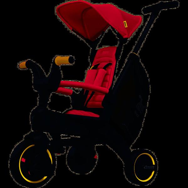 DOONA Liki S5 Flame Red Bērnu trīsritenis