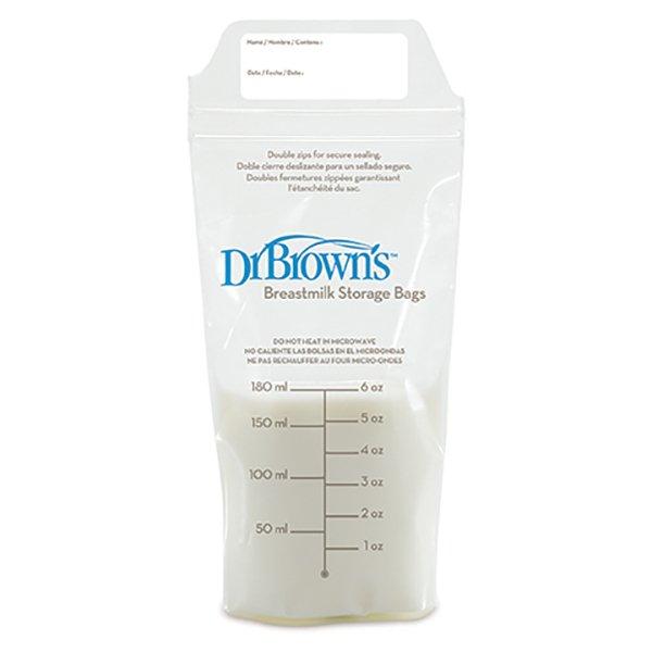 Dr.Browns Piena uzglabāšanas maisiņi (25 gab.)