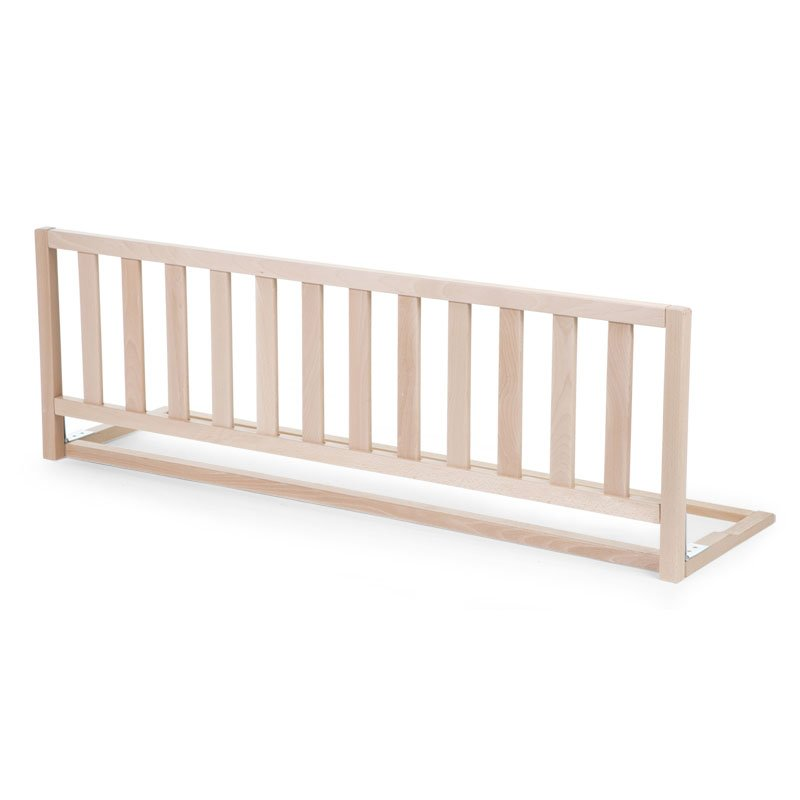 Drosības barjers gultai 120 сm CHILDHOME Bed Rail Beech natural