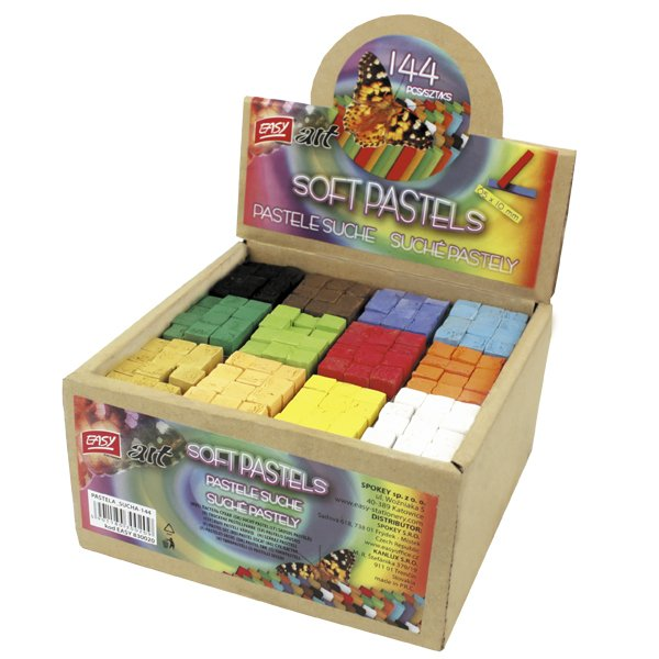 Easy Stationery PASTELA Krāsainā klasiskā sausā pastele 1gb. no iepakojuma
