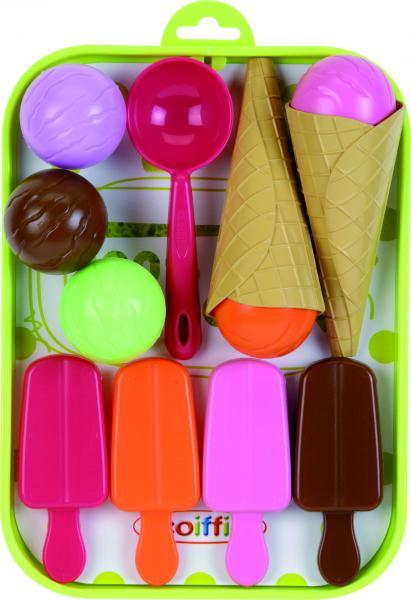 Ecoiffier Saldējuma komplekts bērnu spēlēm (11 gab.)