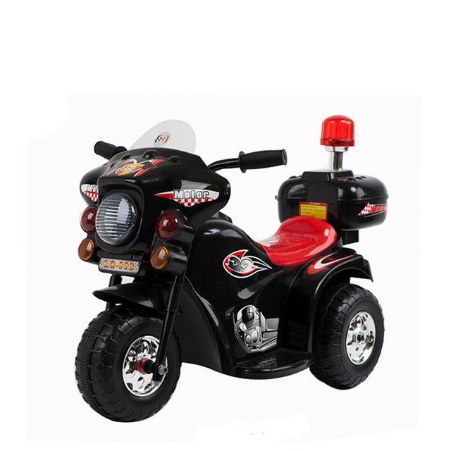 Elektriskais motocikls bērniem Black WDLQ998