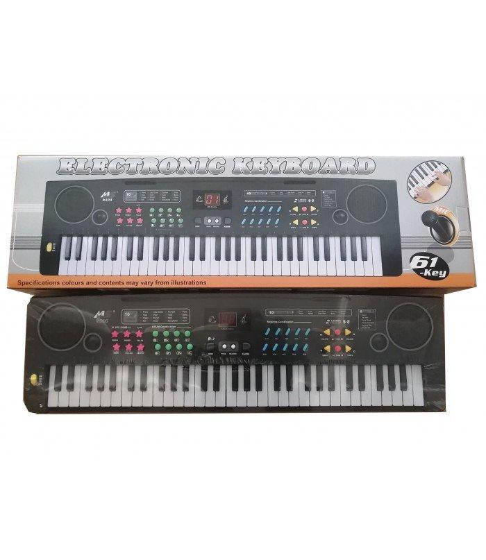Elektriskais sintezators ar mikrofonu un lādētāju MS6101