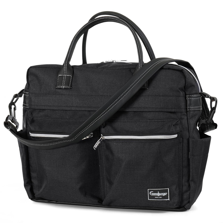 Emmaljunga Travel Lounge Black ratiņu soma