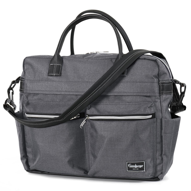Emmaljunga Travel Lounge Grey ratiņu soma