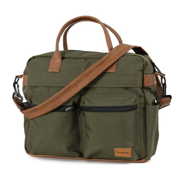 Emmaljunga Travel Outdoor Olive ratiņu soma