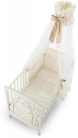 Erbesi Cuori Cream Bērnu elegants baldahīns