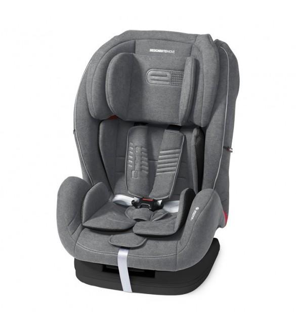 Espiro KAPPA 07 grey&silver Bērnu autosēdeklis 9-36 kg