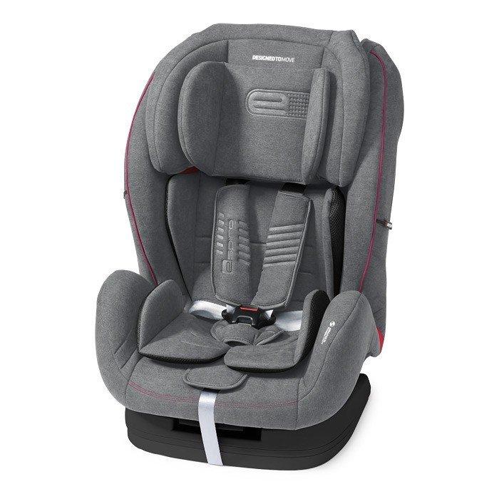 Espiro KAPPA 08/grey&pink Bērnu autosēdeklis 9-36 kg