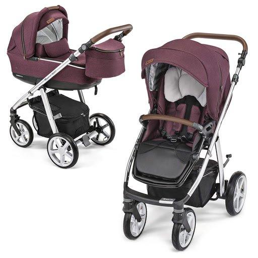 Espiro Next Avenue 106 Purple Rain Bērnu ratiņi 2in1