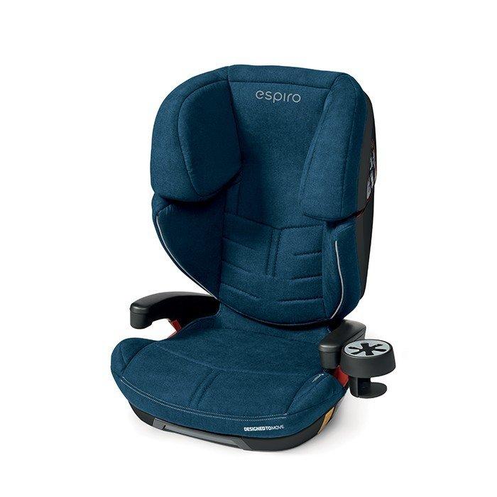 Espiro OMEGA FX Isofit 03 denim &silver Bērnu autosēdeklis 15-36 kg