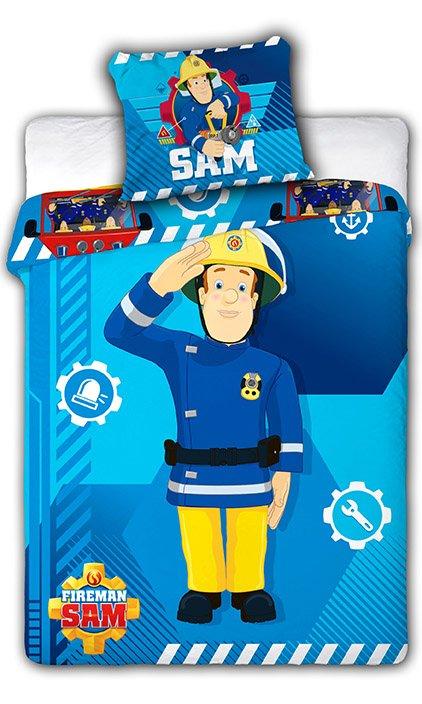 Faro Fireman Sam Kokvilnas gultas veļas komplekts no 2 daļām 100x135